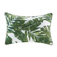 Madison Park Everett 14-Inch x 20-Inch Oblong Outdoor Throw Pillow in Green