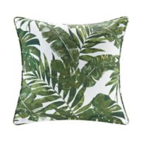 Madison Park Everett 20-Inch Square Outdoor Throw Pillow in Green