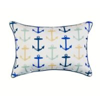 Sail Outdoor Oblong Throw Pillow