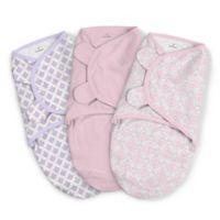 SwaddleMe® 3-Pack Large You're Mine Adeline Original Swaddles in Pink