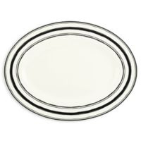 Lenox® Around the Table Stripe 16-Inch Oval Platter