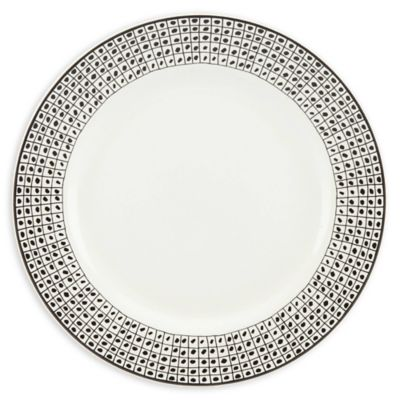 Lenox® Around the Table Dot Dinner Plate  sc 1 st  Bed Bath u0026 Beyond & Buy Black and White Dinner Plates from Bed Bath u0026 Beyond
