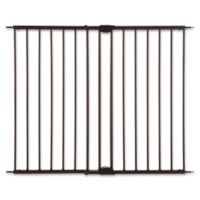 MyPet Windsor Walk-Thru Pet Gate in Matte Bronze
