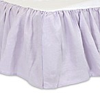 Just Born® Keepsake Crib Skirt in Lilac