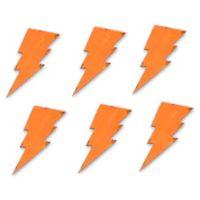 Letter2word Babes & Kiddos 6-Pack Lightning Bolt Wall Decal Set