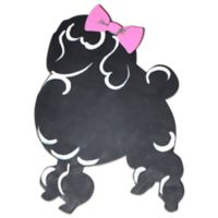 Letter2word Babes & Kiddos Poodle Chalkboard 16-Inch x 20-Inch Wall Art