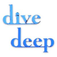 """Letter2word Babes & Kiddos """"Dive Deep"""" Wall Decal Set"""