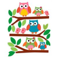 Wallies® Owls Wall Decal Set