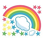 Wallies Rainbow Room Peel & Stick Wall Decals