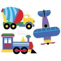 Wallies® Olive Kids™ Trains, Planes, Trucks Wall Decal Set