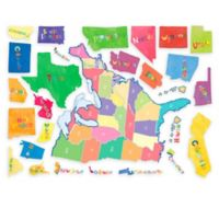 USA State Map Wall Decal