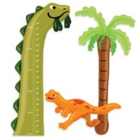 Wallies Dino Growth Chart Wall Decal Set