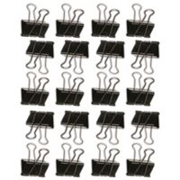 Wallies 20-Pack Hang it Up Binder Clips Wall Decals