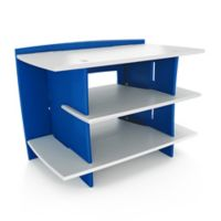 Legare Furniture Race Car Collection Gaming Stand in Blue