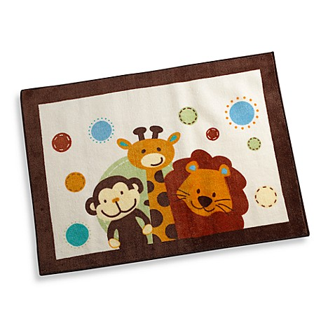 NoJo® Jungle Tales Rectangular Rug