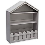 Serta Happy Home Storage Bookcase in Grey