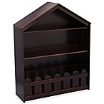 Serta Happy Home Storage Bookcase in Dark Chocolate