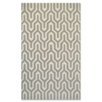 Couristan® Super Indo Naturals Cambria 5-Foot 6-Inch x 8-Foot Area Rug in White/Grey