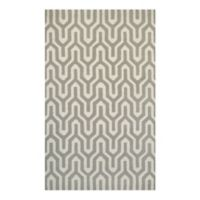 Couristan® Super Indo Naturals Cambria 9-Foot 6-Inch x 13-Foot Area Rug in White/Grey