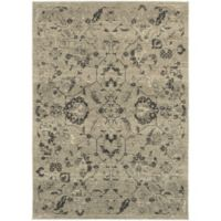 Oriental Weavers Highlands 6-Foot 7-Inch x 9-Foot 6-Inch Area Rug in Beige