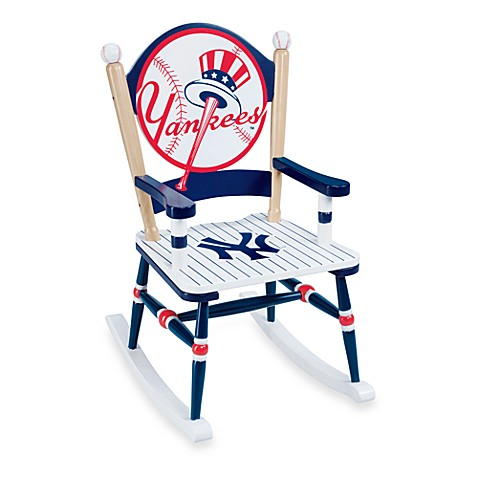 Major League Baseball Yankees Rocking Chair