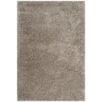 Safavieh Florence 4-Foot x 6-Foot Shag Area Rug in Silver