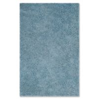 Safavieh Florence 5-Foot x 8-Foot Shag Area Rug in Light Blue