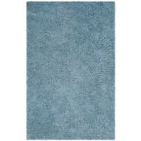Safavieh Florence 8-Foot x 10-Foot Shag Area Rug in Light Blue