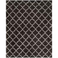 Safavieh Indie 8-Foot x 10-Foot Shag Area Rug in Dark Grey/Grey