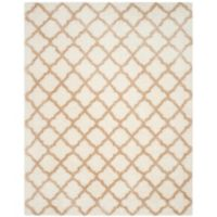 Safavieh Indie 8-Foot x 10-Foot Shag Area Rug in Ivory/Light Beige