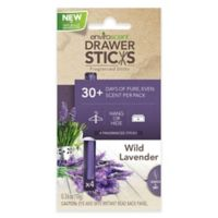 EnviroScent Drawer Sticks in Wild Lavender (Set of 4)
