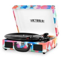Innovative Technology Victrola 3-Speed Bluetooth Multi-Colored Record Player