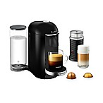Nespresso® by Breville® VertuoPlus Deluxe Coffee and Espresso Maker Bundle in Black