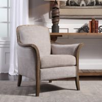 Uttermost Brittoney Armchair in Taupe
