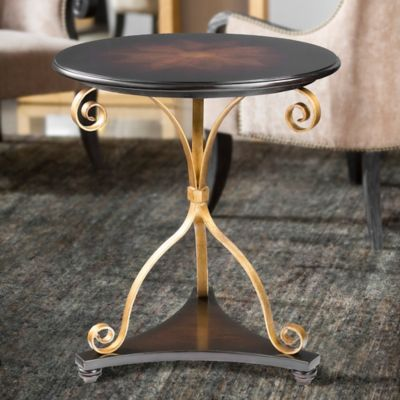 Uttermost Lanzo Accent Table In Walnut