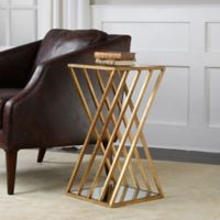 Uttermost Janina Accent Table in Gold