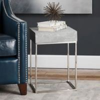 Uttermost Jude Accent Table in Stainless Steel
