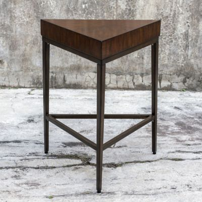 Uttermost Ingo Accent Table In Walnut
