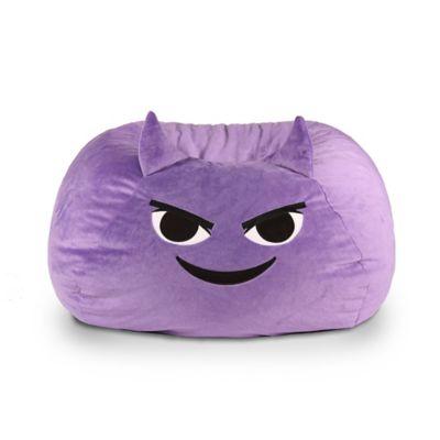 Gomoji™ Mischief Emoji Bean Bag In Purple