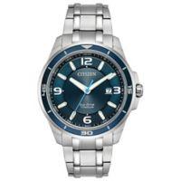 Citizen Eco Drive Ti+IP Men's 42mm Bracelet Watch in Ion-Plated Titanium