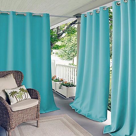 Elrene Connor Indoor Outdoor Grommet Top Window Curtain