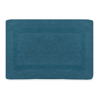 Wamsutta® 17 Inch X 24 Inch Reversible Bath Rug In Teal