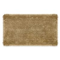 Laura Ashley Butter Chenille 20-Inch x 34-Inch Bath Rug in Linen