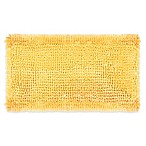 Laura Ashley® Butter Chenille 20-Inch x 34-Inch Bath Rug in Yellow