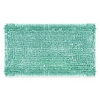 Laura Ashley® Butter Chenille 20-Inch x 34-Inch Bath Rug in Aqua