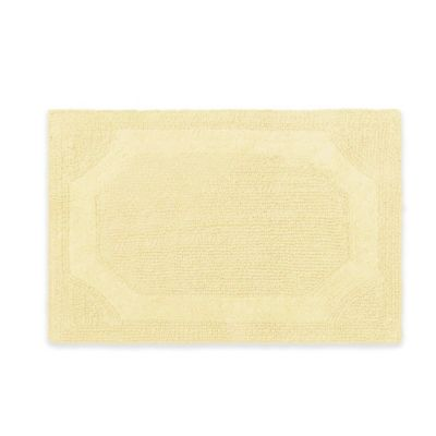 Laura Ashley 21 Inch X 34 Inch Reversible Bath Rug In Yellow