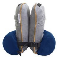 Inflatable Surround Compact Travel Pillow in Navy