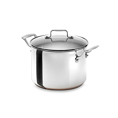 Emerilware Stainless Steel 8-Quart Stock Pot with Lid