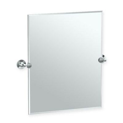 Gatco® Max 24 Inch Rectangle Mirror In Chrome