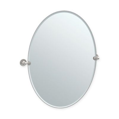 buy oval bathroom mirrors from bed bath & beyond